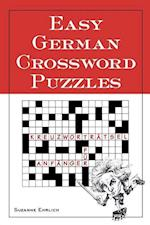 Easy German Crossword Puzzles af Susanne Ehrlich