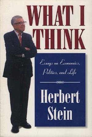 Bog, paperback What I Think af Herbert Stein