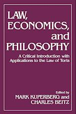 Law, Economics, and Philosophy