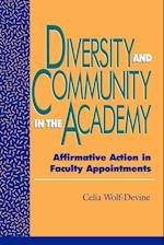 Diversity and Community in the Academy af Celia Wolf Devine