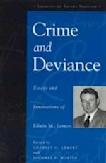 Crime and Deviance af Michael F Winter, Charles C Lemert, Edwin M Lemert