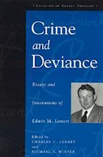 Crime and Deviance af Michael F Winter, Edwin M Lemert, Charles C Lemert