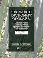 Crc World Dictionary of Grasses af Umberto Quattrocchi