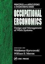 Occupational Ergonomics (Principles and Applications in Engineering)