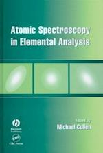 Atomic Spectroscopy in Elemental Analysis (Sheffield Analytical Chemistry)