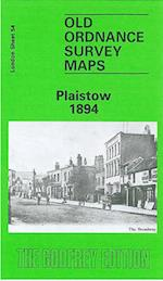 Plaistow 1894 (Old Ordnance Survey Maps of London)