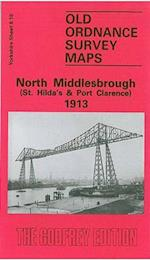 North Middlesbrough (St.Hilda's and Port Clarence) 1913 (Old O.S. Maps of Yorkshire)