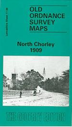 North Chorley 1909 (Old O.S. Maps of Lancashire)