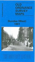 Dundee (West) 1901 (Old O.S. Maps of Forfarshire)