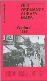 Watford 1896 (Old O.S. Maps of Hertfordshire)
