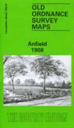 Anfield 1908 (Old O.S. Maps of Lancashire)