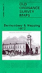 Bermondsey and Wapping 1872 (Old O.S. Maps of London)