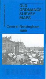 Central Nottingham 1899 (Old O S Maps of Nottinghamshire)