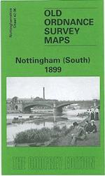 Nottingham (South) 1899 (Old O S Maps of Nottinghamshire)