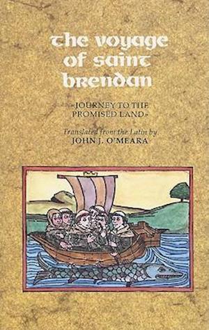 Bog, paperback The Voyage of Saint Brendan af J J O Meara