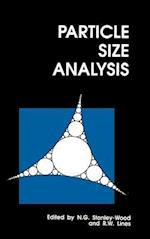 Particle Size Analysis (Special Publications, nr. 102)