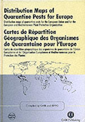 Distribution Maps of Quarantine Pests for Europe