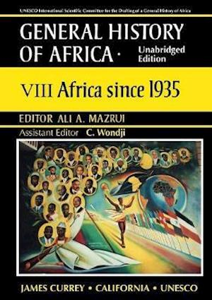 General History of Africa volume 8 [pbk unabridg - Africa since 1935