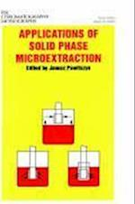 Applications of Solid Phase Microextraction (Rsc Chromatography Monographs, nr. 5)