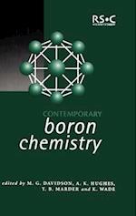 Contemporary Boron Chemistry (Special Publications, nr. 253)