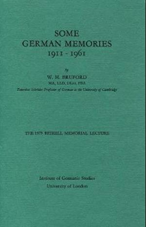 Some German Memories, 1911-1961