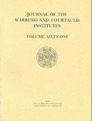 Journal of the Warburg and Courtauld Institutes, v. 61 (1998)