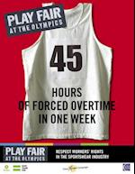 Play Fair at the Olympics (Oxfam Campaign Reports)