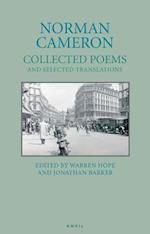 Norman Cameron: Collected Poems and Selected Translations