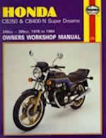 Honda CB250 and CB400N Superdreams Owner's Workshop Manual (Motorcycle Manuals)