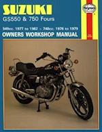 Suzuki GS550 and GS750 Fours 549cc 1977-82 and 748cc 1976-79 Owner's Workshop Manual (Motorcycle Manuals)