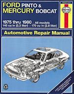 Ford Pinto and Mercury Bobcat 1975-80 Owner's Workshop Manual