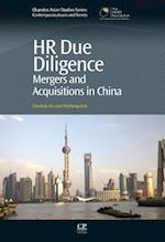 HR Due Diligence (Chandos Asian Studies)