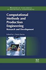 Computational Methods and Production Engineering (Woodhead Publishing Reviews Mechanical Engineering Series)