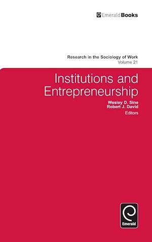 Institutions and Entrepreneurship