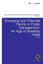 Emerging and Potential Trends in Public Management (Critical Perspectives on International Public Sector Management, nr. 1)