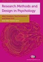 Research Methods and Design in Psychology af Paul Richardson