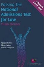 Passing the National Admissions Test for Law (LNAT) (Student Guides to University Entrance)