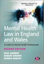 Mental Health Law in England and Wales (Mental Health in Practice, nr. 1501)