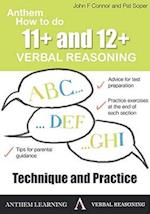 Anthem How to Do 11+ and 12+ Verbal Reasoning: Technique and Practice (Anthem Learning Verbal Reasoning)