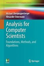 Analysis for Computer Scientists : Foundations, Methods, and Algorithms