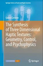 Synthesis of Three Dimensional Haptic Textures