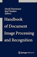 Handbook of Document Image Processing and Recognition