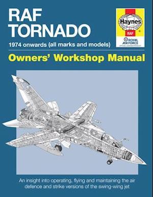 Bog, hardback RAF Tornado Manual af Ian Black