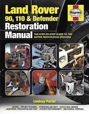 Bog, hardback Land Rover 90. 110 & Defender Restoration Manual af Lindsay Porter