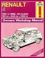 Renault 4 Owners Workshop Manual (Haynes Service and Repair Manuals)