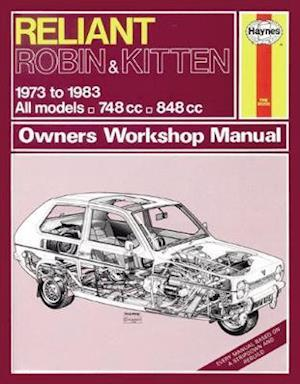 Reliant Robin & Kitten