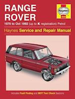 Range Rover V8 Petrol Owners Workshop Manual (Haynes Service and Repair Manuals)