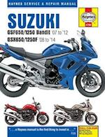 Suzuki GSF650/1250 Bandit & GSX650/1250F Service & Repair Manual (Haynes Service and Repair Manuals)