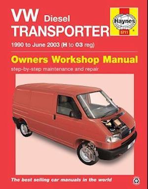 Bog, paperback VW Transporter Diesel (T4) Service and Repair Manual af John S. Mead