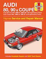 Audi 80, 90 & Coupe Owner's Workshop Manual (Haynes Service and Repair Manuals)